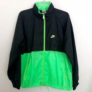 Vintage NIKE Hooded Color Block Windbreaker Jacket